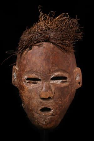 Afrikanische Kunst Kongo Maske
