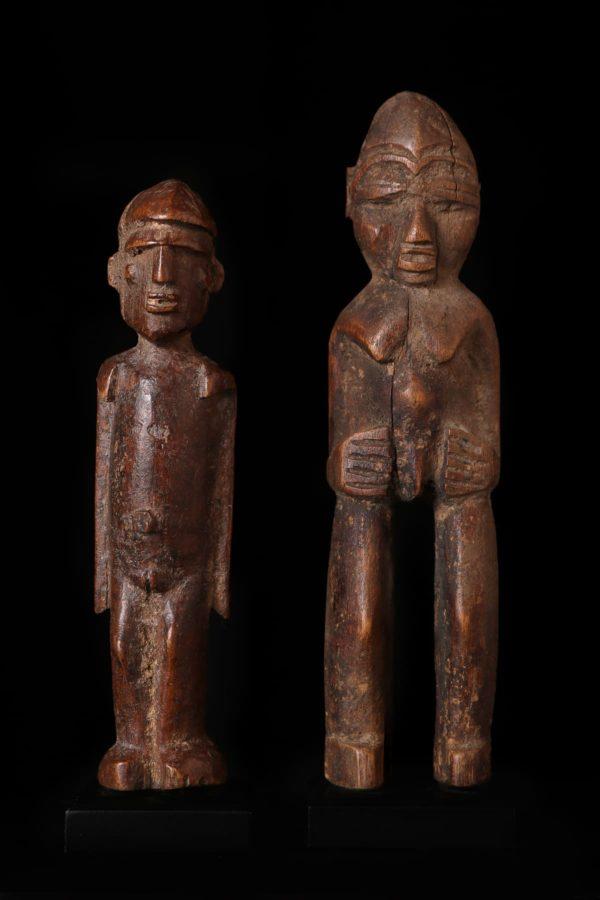 Afrikanische Kunst Lobi Figuren 2
