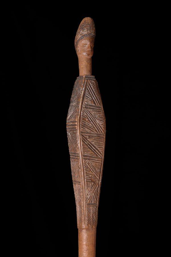 Afrikanische Kunst Lwena Stab