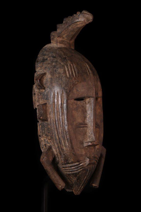 Afrikanische Kunst Senufo Kpelie Maske